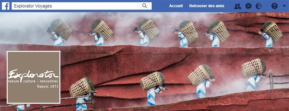 Bandeau acces page Facebook